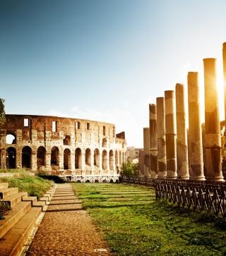 Rome - Amphitheater Colosseum - Obrázkek zdarma pro Nokia Asha 310