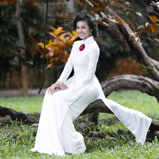 Fashion model from Vietnam - Obrázkek zdarma pro iPad 3