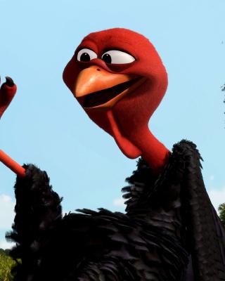 Reggie Turkey in Free Birds - Fondos de pantalla gratis para Nokia C2-02