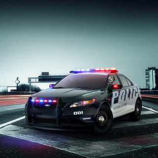 Ford Police Interceptor 2016 - Obrázkek zdarma pro 320x320