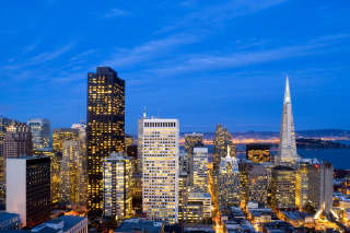 San Francisco Skyline Picture for Android, iPhone and iPad