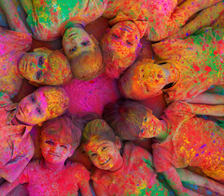 Indian Holi Festival - Obrázkek zdarma pro iPad 3
