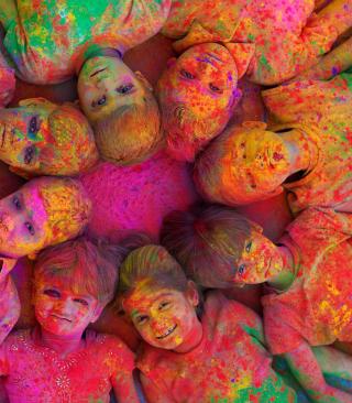 Indian Holi Festival - Obrázkek zdarma pro Nokia Asha 300