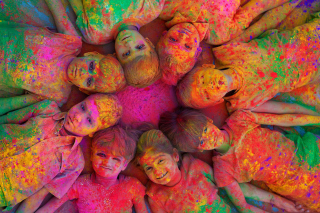 Free Indian Holi Festival Picture for Android, iPhone and iPad