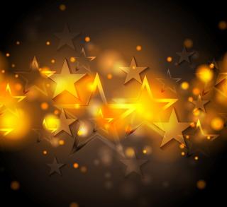 Shiny Stars - Obrázkek zdarma pro 128x128
