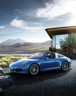 Porsche 911 Targa 4 GTS - Obrázkek zdarma pro Nokia Lumia 720