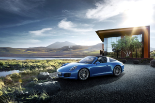 Porsche 911 Targa 4 GTS Picture for Android, iPhone and iPad
