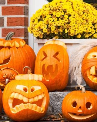 Halloween Pumpkin - Obrázkek zdarma pro Nokia Lumia 720