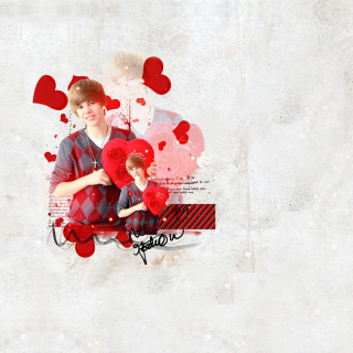 Justin Bieber - Obrázkek zdarma pro iPad Air
