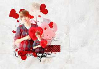 Justin Bieber - Obrázkek zdarma pro Widescreen Desktop PC 1680x1050