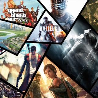 Xbox Games - Obrázkek zdarma pro iPad Air