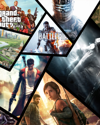 Xbox Games - Obrázkek zdarma pro Nokia Asha 305