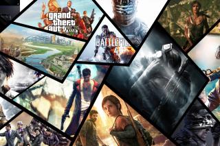 Xbox Games - Obrázkek zdarma pro Nokia XL