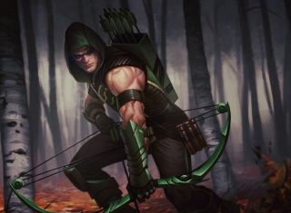 Green Arrow Background for Android, iPhone and iPad