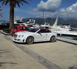 Continental GT Speed Convertible - Bentley - Obrázkek zdarma pro 208x208
