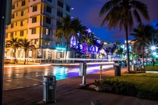 Florida, Miami Evening - Obrázkek zdarma pro Widescreen Desktop PC 1280x800