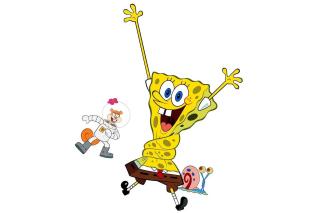 Spongebob and Sandy Cheeks - Obrázkek zdarma pro Fullscreen Desktop 1600x1200