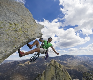 Rock Climbing - Obrázkek zdarma pro iPad 2
