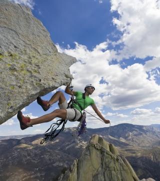 Rock Climbing - Obrázkek zdarma pro Nokia Asha 308