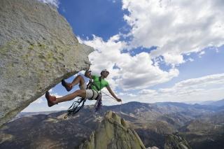 Rock Climbing - Obrázkek zdarma pro 1152x864
