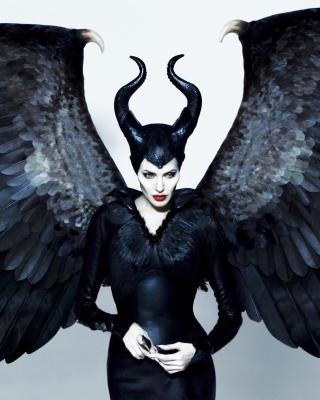 Maleficente, Angelina Jolie - Obrázkek zdarma pro 360x480