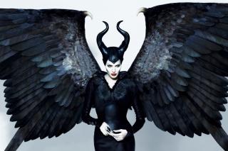 Maleficente, Angelina Jolie - Obrázkek zdarma pro Samsung Galaxy S II 4G