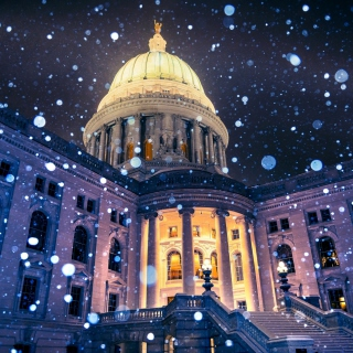 Madison, Wisconsin State Capitol - Obrázkek zdarma pro 208x208