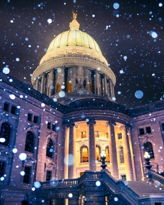 Madison, Wisconsin State Capitol - Obrázkek zdarma pro Nokia Asha 501