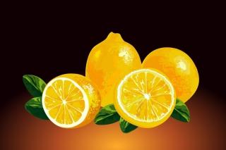 Fresh Lemon Painting - Obrázkek zdarma pro 1024x768