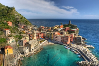 Cinque Terre Italy Wallpaper for Android, iPhone and iPad