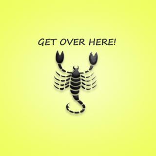 Scorpio Sign - Obrázkek zdarma pro 128x128