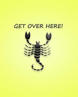 Scorpio Sign - Obrázkek zdarma pro 768x1280