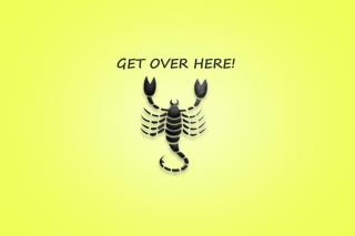 Scorpio Sign - Obrázkek zdarma pro 2880x1920