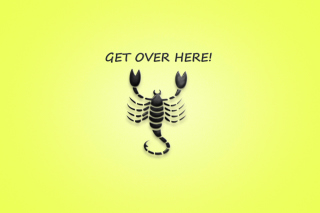 Scorpio Sign - Obrázkek zdarma pro HTC Desire