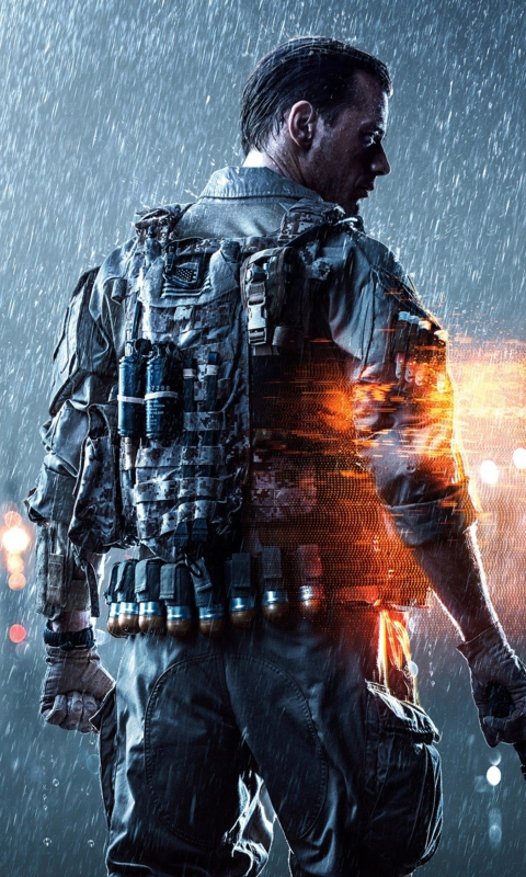 Battlefield 4 Game Wallpaper For Nokia Lumia 520
