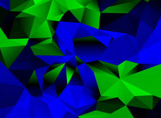 Free Blue And Green Galaxy S5 Picture for Android, iPhone and iPad