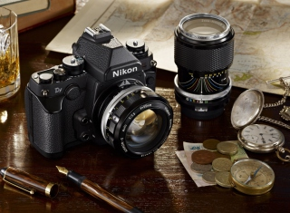 Nikon Camera And Lens Picture for Android, iPhone and iPad