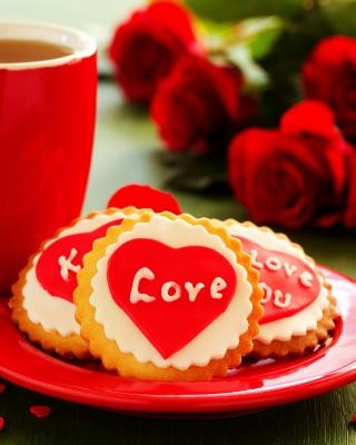 Love Biscuits - Obrázkek zdarma pro Nokia X2