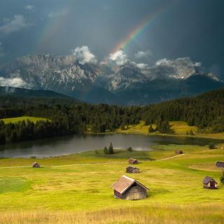 Breathtaking Landscape - Obrázkek zdarma pro iPad Air