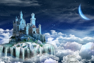 Free Castle on Clouds Picture for Android, iPhone and iPad