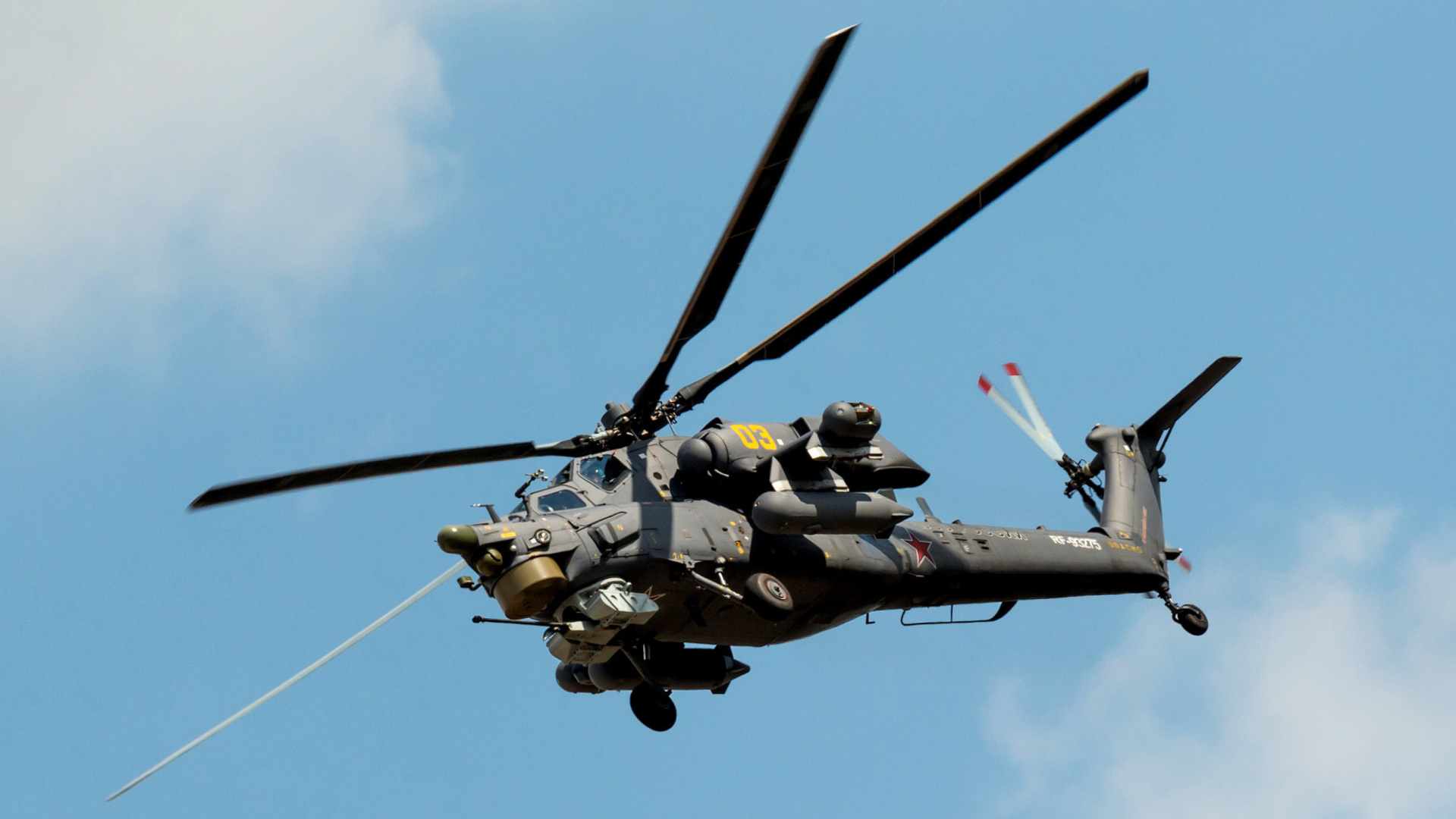 Elicottero Havoc : Mil mi havoc helicopter sfondi gratuiti per desktop