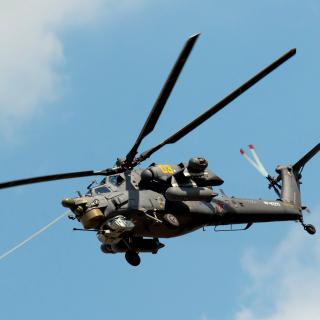 Mil Mi-28 Havoc Helicopter - Obrázkek zdarma pro iPad 2