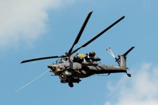 Mil Mi-28 Havoc Helicopter - Obrázkek zdarma pro Sony Xperia M