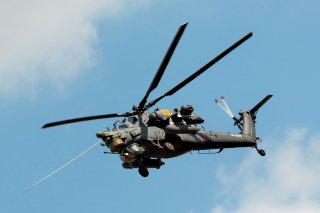 Mil Mi-28 Havoc Helicopter - Obrázkek zdarma pro Samsung Galaxy A