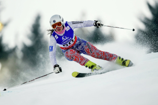 Free Skiing XXII Olympic Winter Games Picture for Android, iPhone and iPad