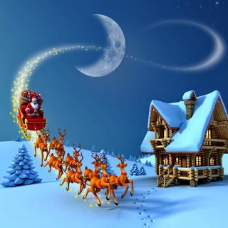 Christmas Night - Obrázkek zdarma pro iPad 2