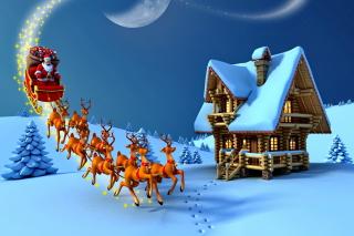 Christmas Night - Obrázkek zdarma pro Fullscreen Desktop 1600x1200