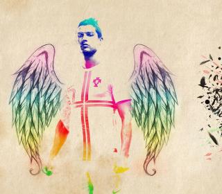 Cristiano Ronaldo Angel - Obrázkek zdarma pro iPad 3