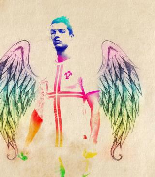 Cristiano Ronaldo Angel - Obrázkek zdarma pro Nokia C1-02