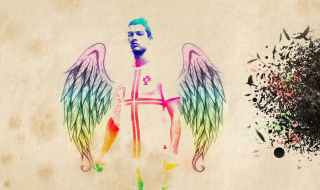 Cristiano Ronaldo Angel - Obrázkek zdarma pro Samsung Galaxy S6